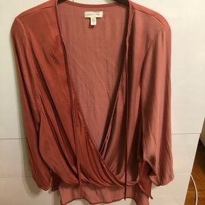 Urban Outfitters Silence + Noise Wrap Top
